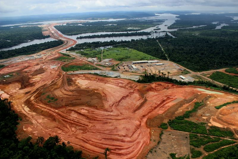 Sítio da barragem de Belo Monte. Foto: Maíra Irigaray / Amazon Watch