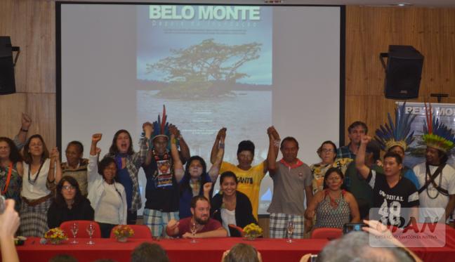 O documentário gerou maior coesão entre as lideranças participantes do evento em Brasília. Foto de Giovanny Vera/OPAN