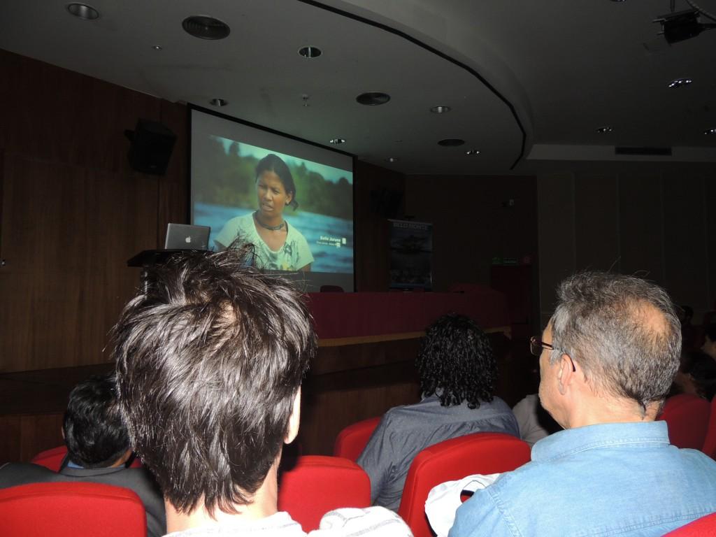 Exibição do filme atraiu atenção do público. Foto: Sucena Shkrada Resk/ICV