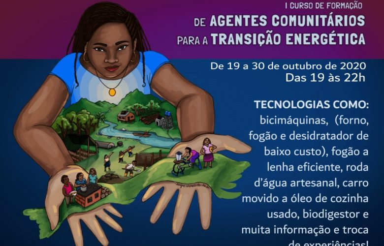 Curso para formação de agentes comunitários para a transição energética inicia nesta segunda (19)